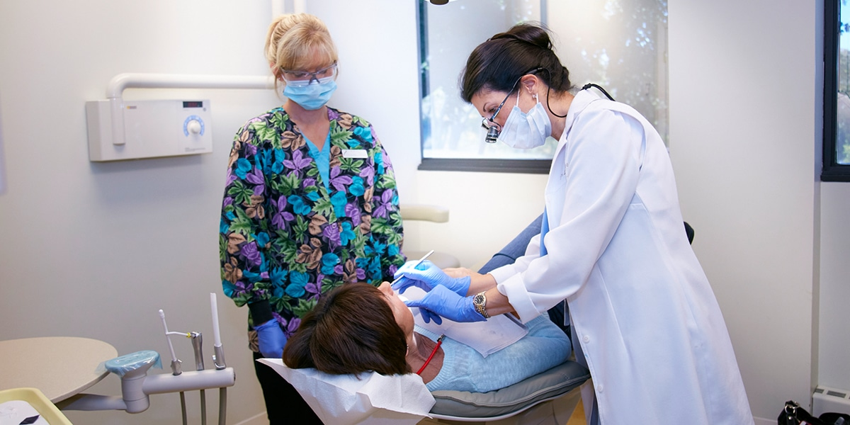 Doctor and Team Working Image